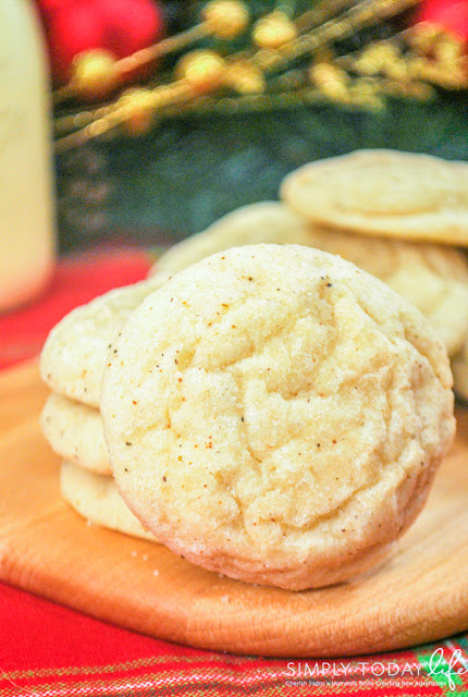 eggnog cookies, holiday dessert, cookie exchange ideas, delicious desserts, Christmas cookies, eggnog dessert