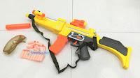 Mp5 Toy Gun With Nerf Gun Manners