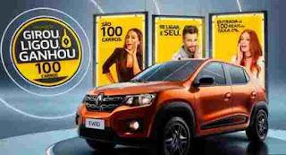 Cadastrar Promoção Renault e McDonald's 100 Carros Girou Ligou Ganhou