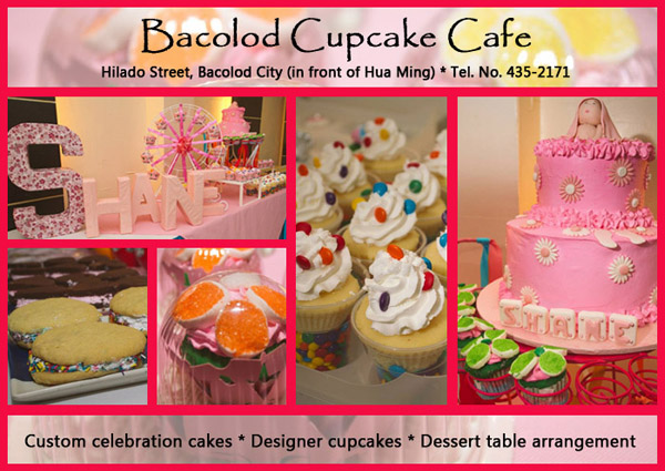 baby christenings ideas bacolod- baby christening cakes and cupcakes - Bacolod Cupcake Cafe