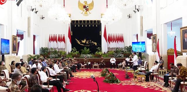 Banyak Menteri Yang Tiarap, Wajar Bila Jokowi Ngamuk