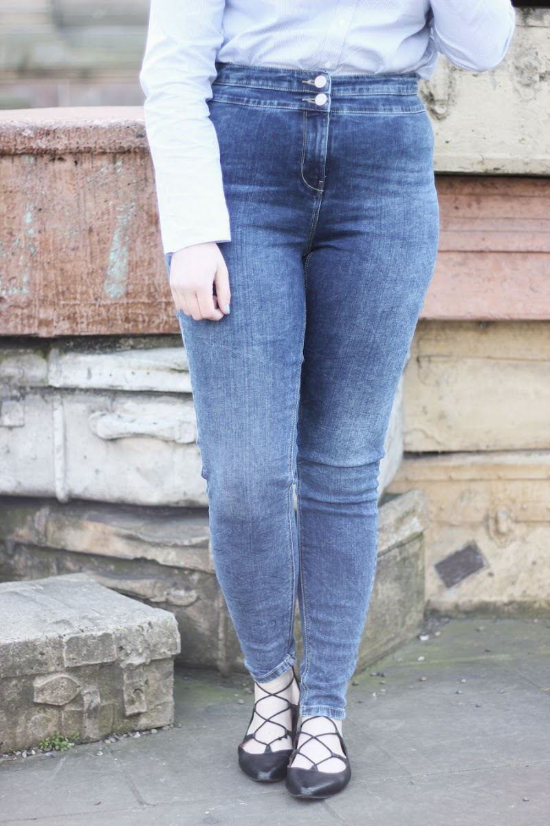 Matalan high waisted skinny jeans | www.itscohen.co.uk