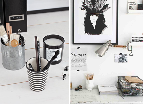 inspiratie bureau werkplek emelina 39 s. Black Bedroom Furniture Sets. Home Design Ideas