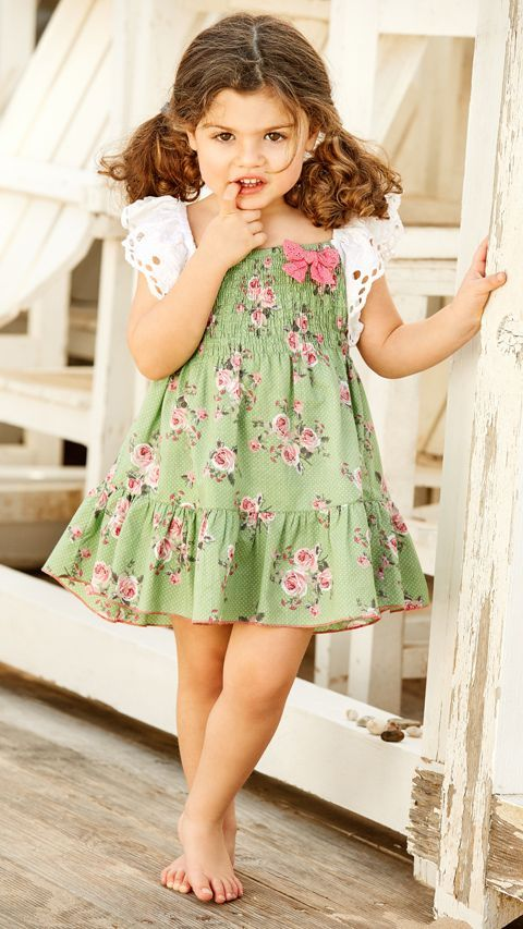 Floral Cute Dress Image 4