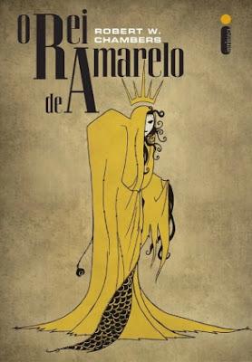 Capa da obra O Rei de Amarelo, de Robert Chambers, baixar pdf