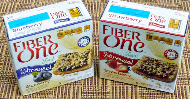 fiber one streusel bars
