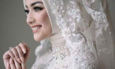 model kerudung pengantin 2