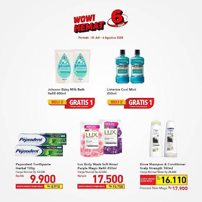 #Promosi247 - #Transmart #Carrefour - #Promo Katalog WOW 6 Hari (s.d 04 Agustus 2020)