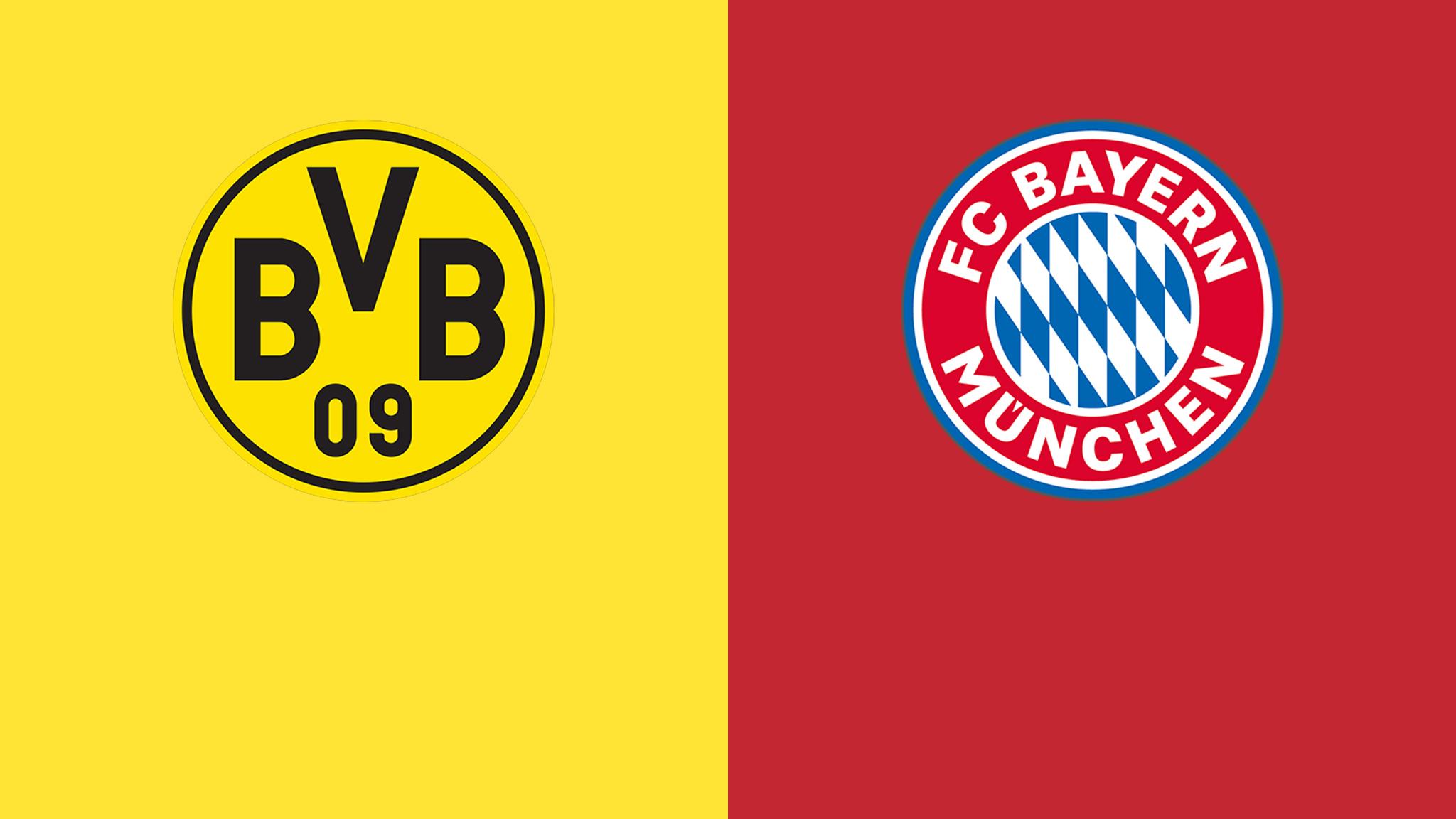 Borussia Dortmund vs Bayern Munich German Bundesliga