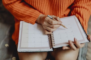 Maintain a study schedule diary