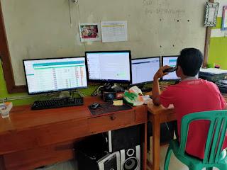 Team IT SMK Yasmida Ambarawa dalam PAS (Penilaian Akhir Semester) 2020