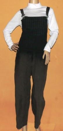 Jeans Jumpsuit Warna Gradasi