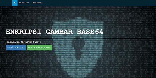 Enkripsi Keamanan Gambar Dengan Base 64