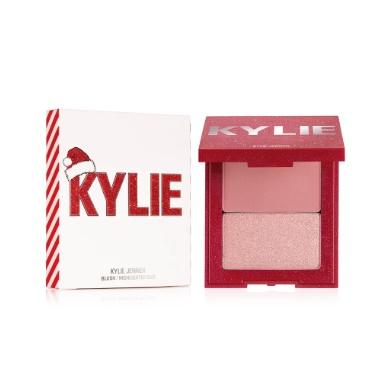 duo blush e iluminador da coleção holiday kylie