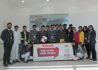Industrial visit to Yakult Danone India (P) Ltd