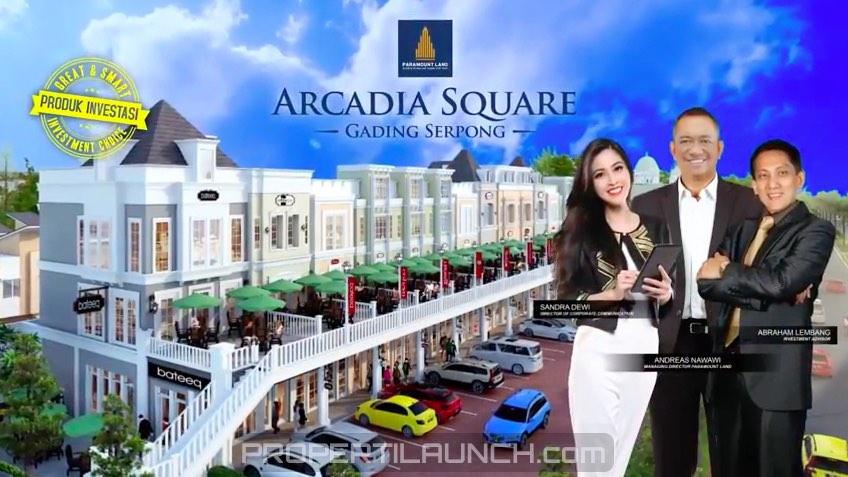 Brochure Arcadia Square Gading Serpong