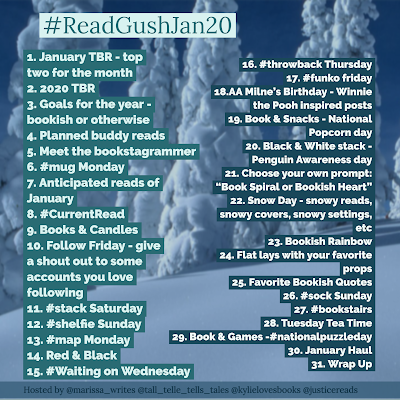 Read and Gush January challenge