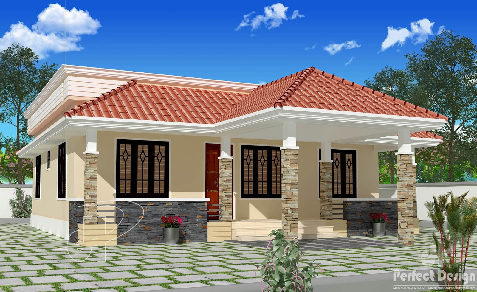 Build your dream one story home with these 12 beautiful for One floor house exterior design