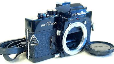 Minolta SRT-303 (Black) Body #417
