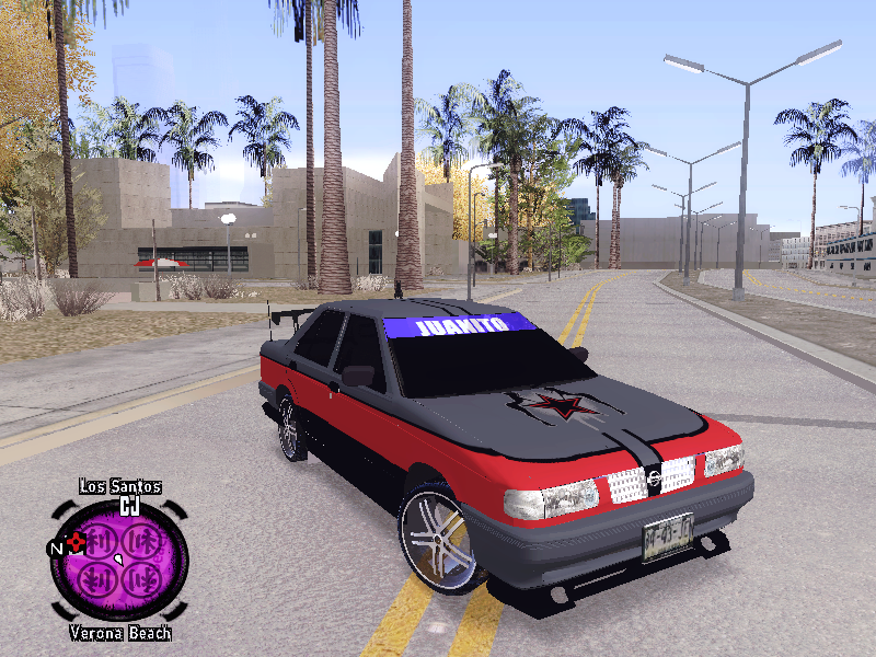 Nissan Tsuru V1 Tuning By Juanito Descargar Gta San Andreas
