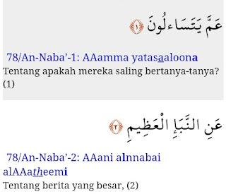 Nama Surah Dalam Al-Qur'an Ke 71-80 Dan Kandungannya