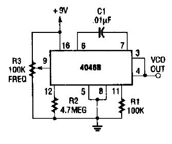 Electronic Circuits for Beginners: Restricted range oscillator