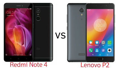 Xiaomi Redmi Note 4 vs Lenovo P2