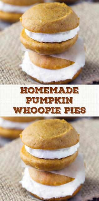Homemade Pumpkin Whoopie Pies