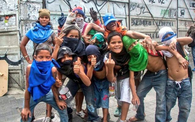 Se multiplica el número de Niños Delincuentes en Venezuela
