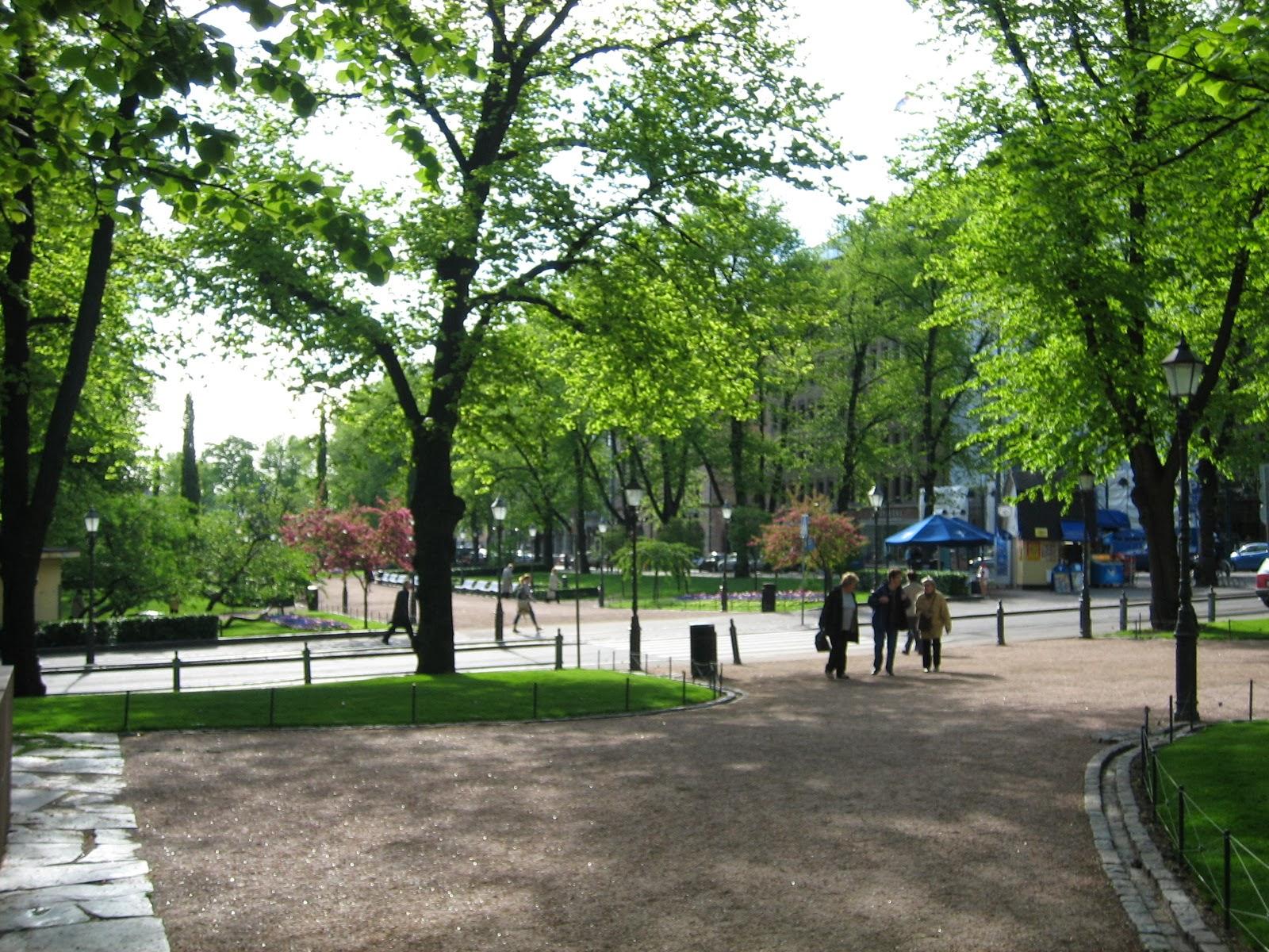 Helsinki Puistot