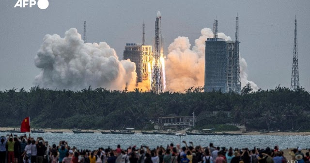 Breaking: Chinese rocket debris will fall from space!  Fear all countries