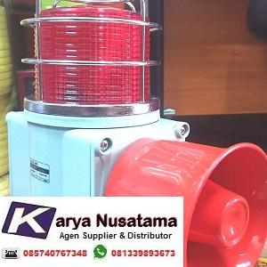 Jual Lampu dan Sirine Qlight SHDL WS 220V Untuk Kapal di Kalimantan