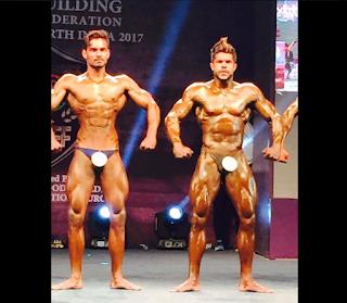 Aatur Tyagi Mr. North India Bodybuilding competition champion