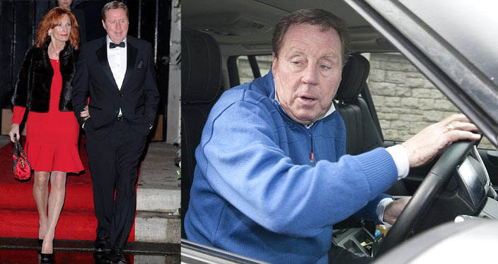 Harry Redknapp drives over his wife in freak accident