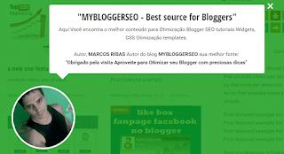 Widget Saudação com Efeito flip para Blogger