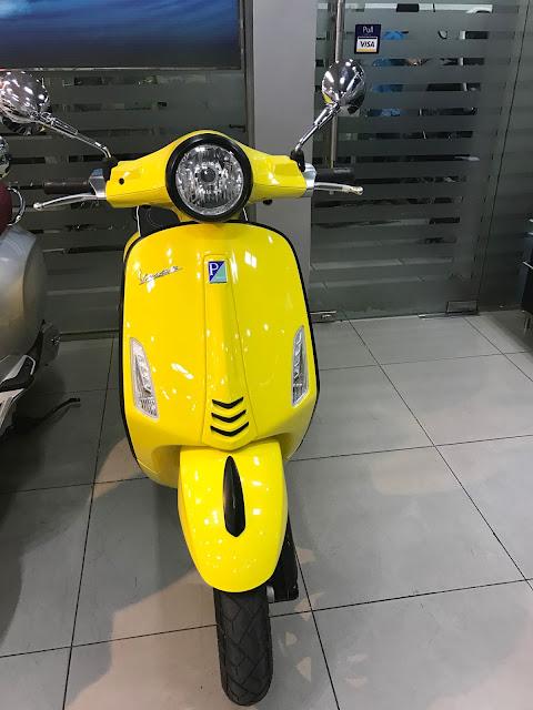 Huong dan mua tra gop xe Vespa Primavera GTSLXVLibertyZIP Thu tuc don gian lay xe trong ngay - 3