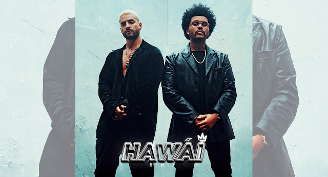 """Maluma y The Weeknd la rompen con """"Hawái - Remix"""" junto con su videoclip"""