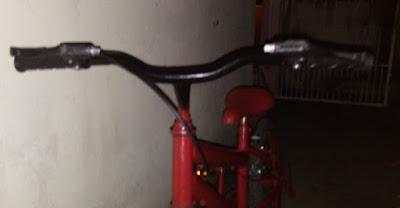 Acidente de bicicleta em Mairi