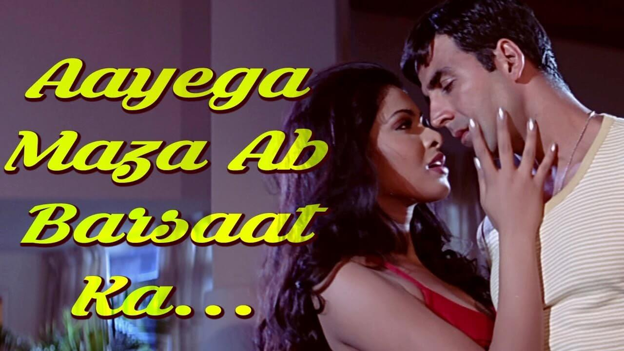 aayega maza ab barsaat ka lyrics