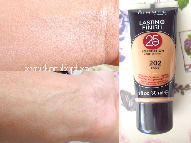 Rimmel London Lasting Finish 25 Hours Fondöten