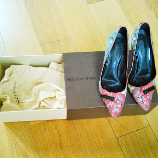 louis vuitton richard prince pumps
