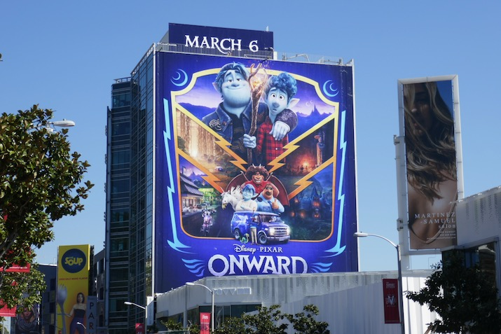 Giant Onward film billboard