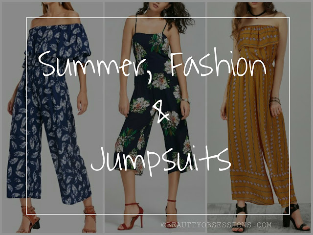 Summer, Fashion and Jumpsuits ...