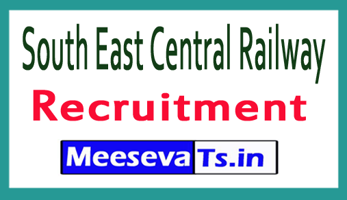 South East Central Railway SECR Recruitment