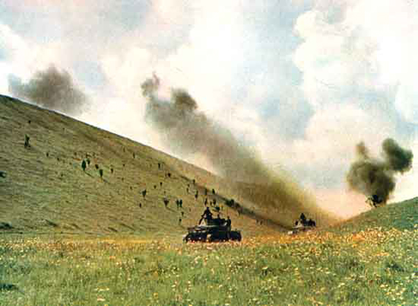 German troops in the Caucasus color photos of World War II worldwartwo.filminspector.com