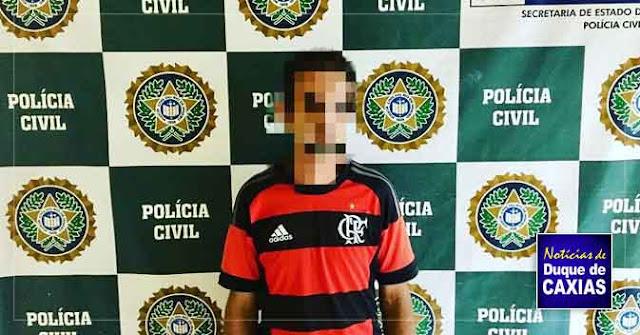 Acusado de espancar adolescente é preso em Duque de Caxias