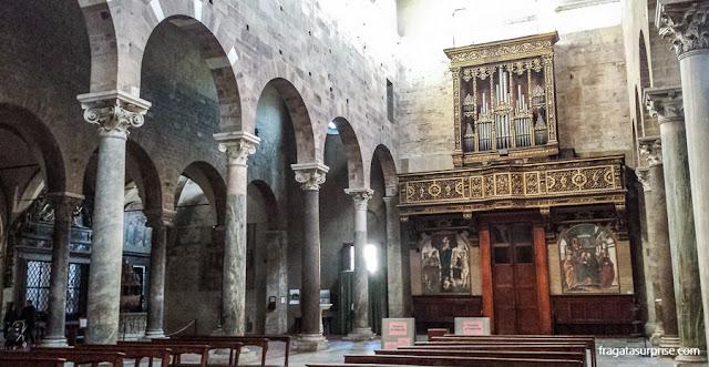 Basílica de San Frediano, Luca, Toscana, Itália