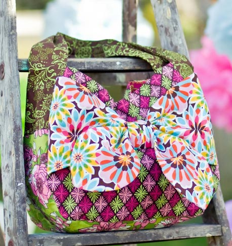 Luscious Bow Tote Free Quilt Pattern