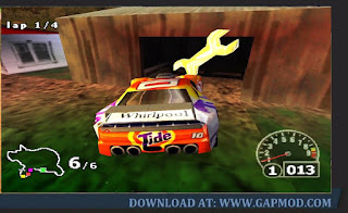 Gold-key-Nascar-Rumble-PPSSPP
