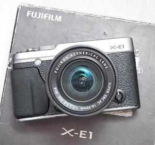 Jual Mirrorless Fujifilm X-E1 Bekas